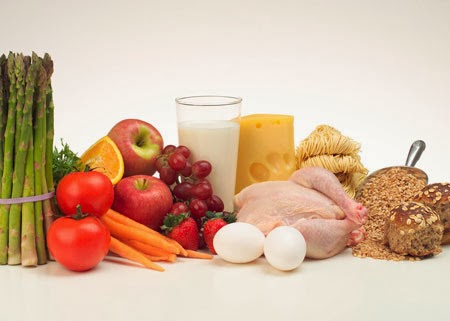 Alimentación variada y equilibrida