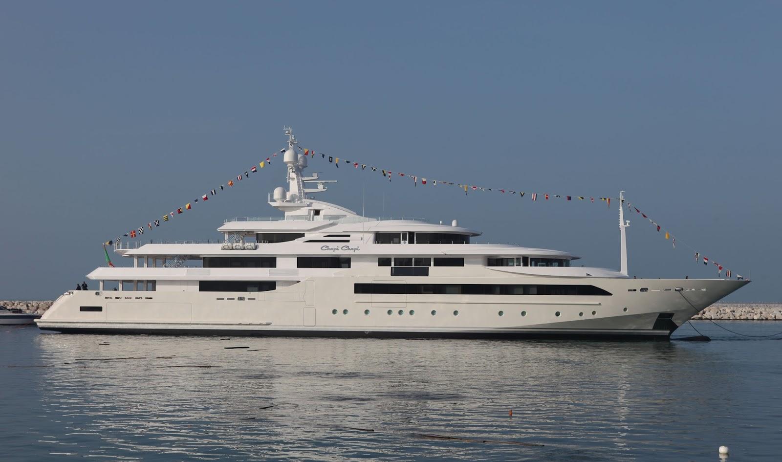 Superyacht CHOPI CHOPI Starboard