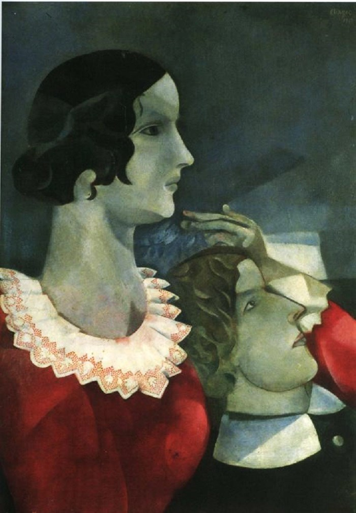 It S About Time Lovers By Russian Born Marc Chagall Amp His