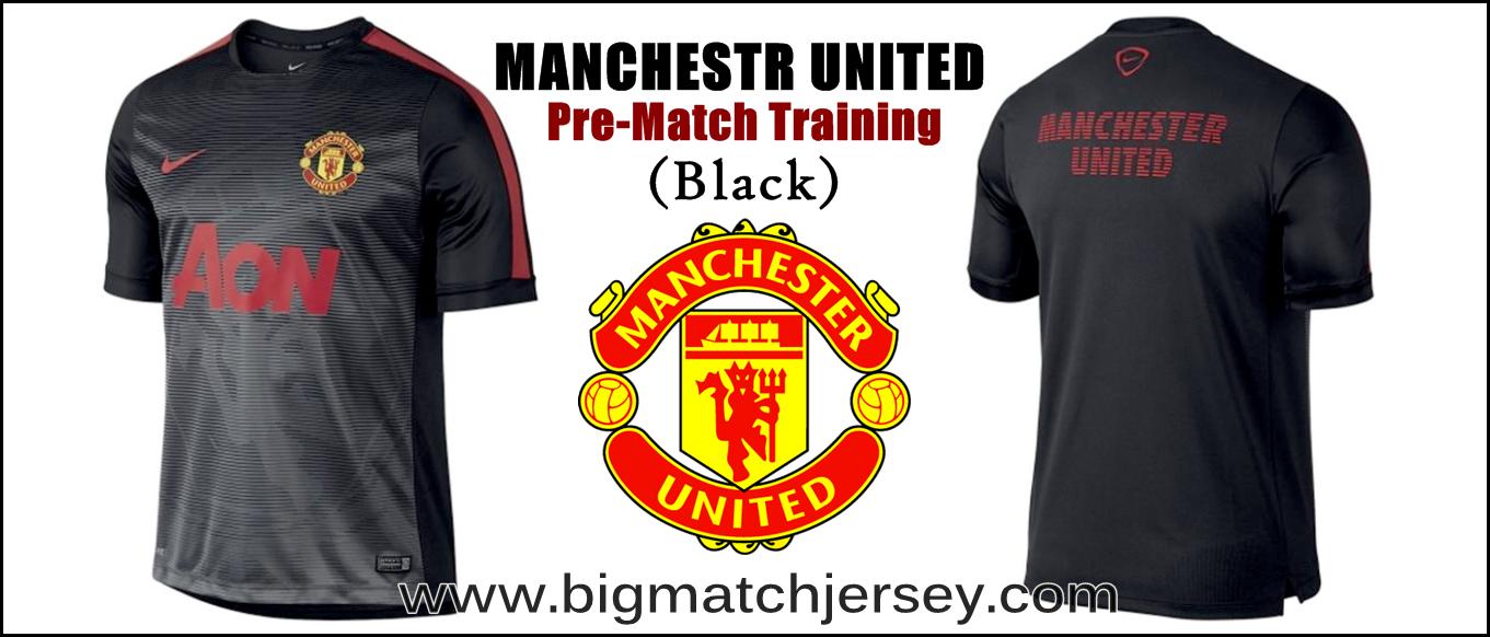 Big Match Jersey Toko Grosir Dan Eceran Grade Ori Bola Manchester United Away Mu 18 19 Nike Squad Prematch Performance Top Black 2015