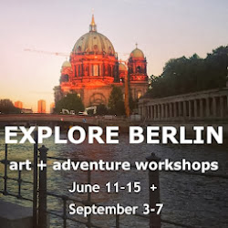 visit me for art + adventure in Berlin
