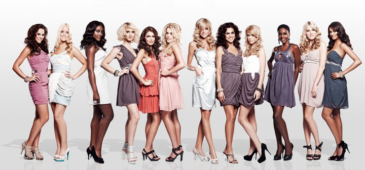 Photos of 12 finalists vying for Miss Nederland 2011 on July 2
