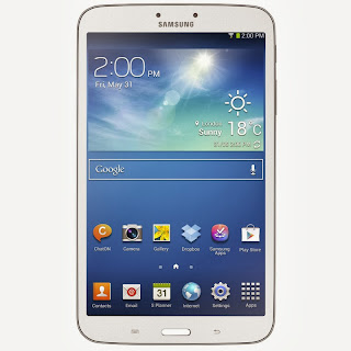 Gambar Samsung Galaxy Tab 3 8.0 tampak depan