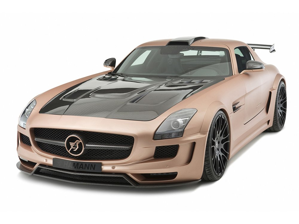Cars april 2011 for Mercedes benz hamann