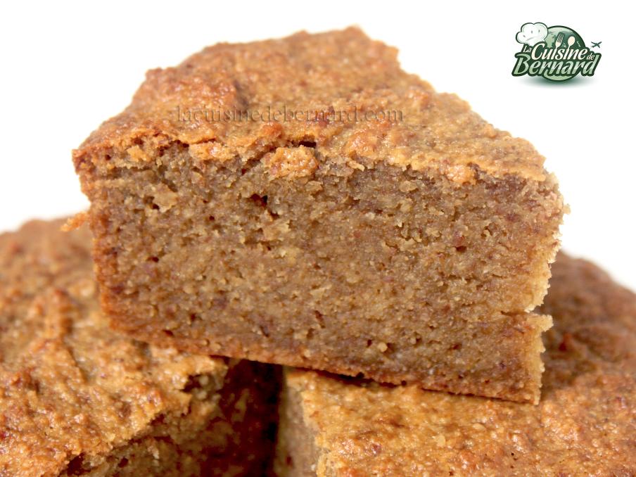 la cuisine de bernard fondant noisettes et miel sans farine