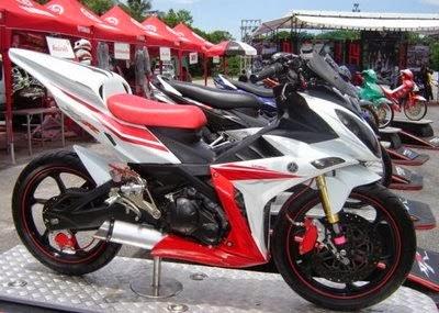 New Modifikasi Motor Jupiter MX sport