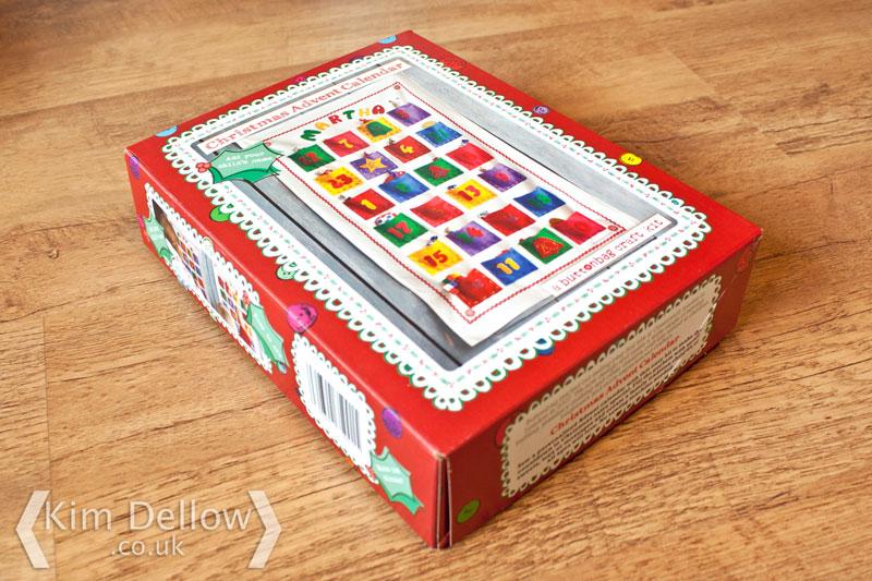 Buttonbag Christmas Advent Calendar Kit Review Kim Dellow