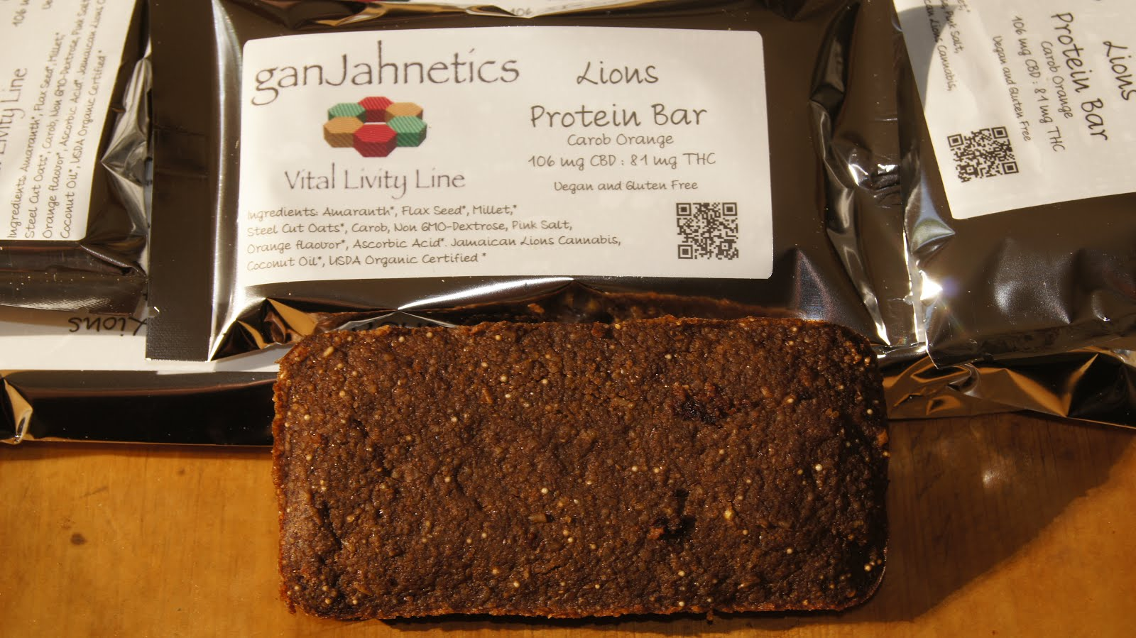 Lions Protein Bars: Vegan, Gluten Free, and full of Love