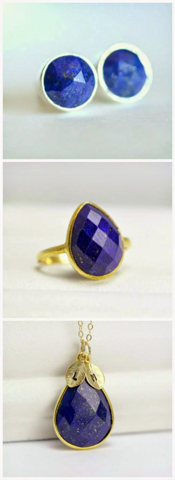 lapis september birthstone jewelry