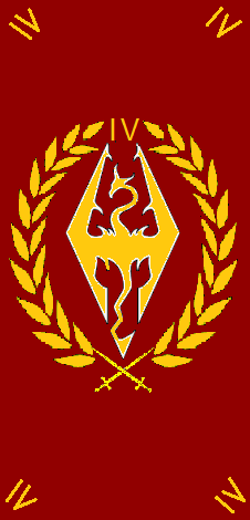 Sam's Flags: Skyrim Banners (game flags) Roman Legion Banners