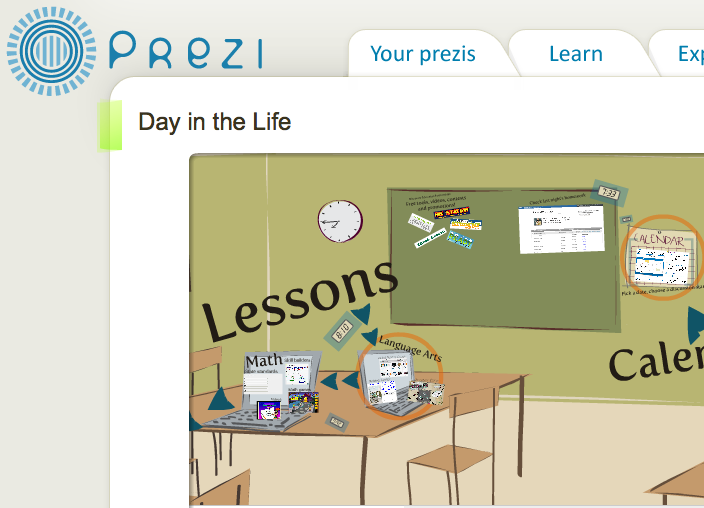 designer eLearning: 7 ideas for designing your own Prezi template