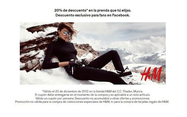 Descuento H&M Thader