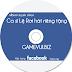 Làm tạo Album ca sĩ Lệ Rơi – Tạo bìa đĩa CD online trực tuyến trên web