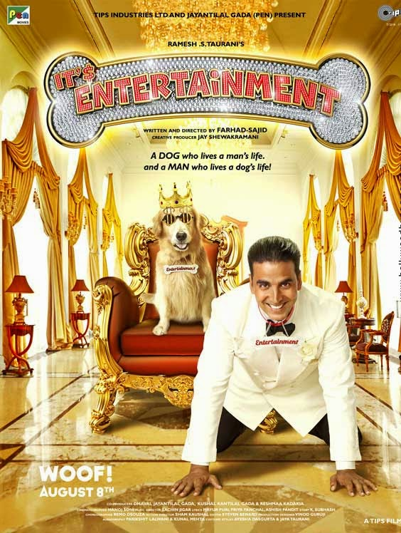 It's Entertainment First Look Poster - Akshay Kumar