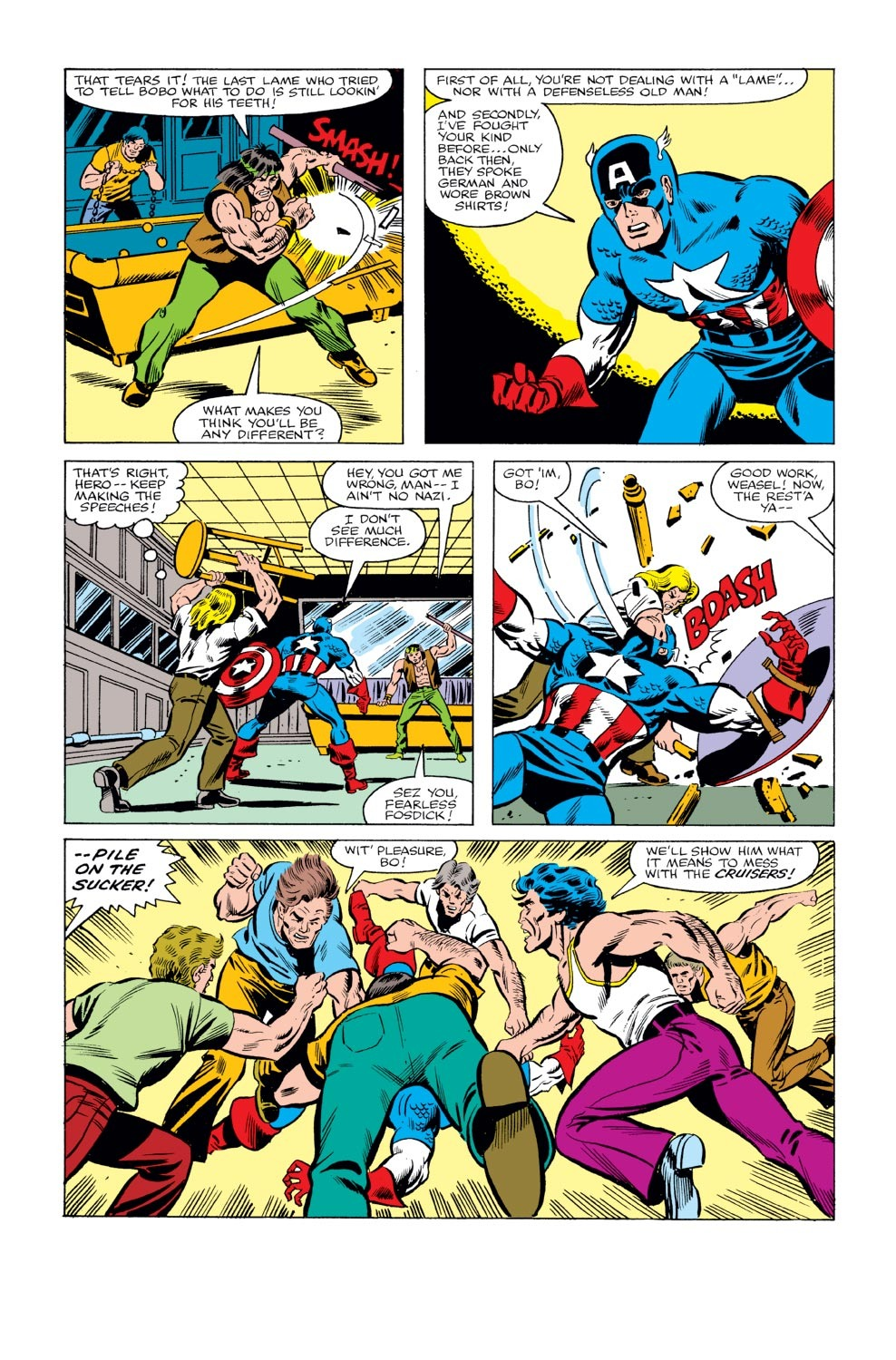 Captain America (1968) Issue #240 #155 - English 6