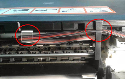remove hoses printer canon pixma mg3210