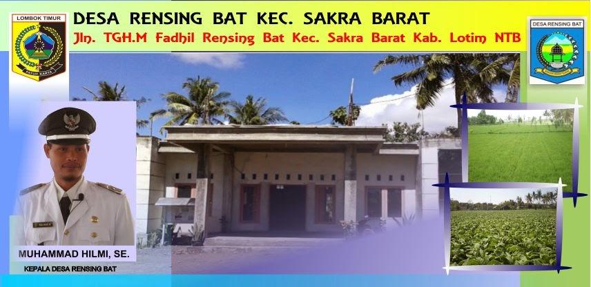 Desa Rensing Bat Kec. Sakra Barat Kab.Lombok Timur