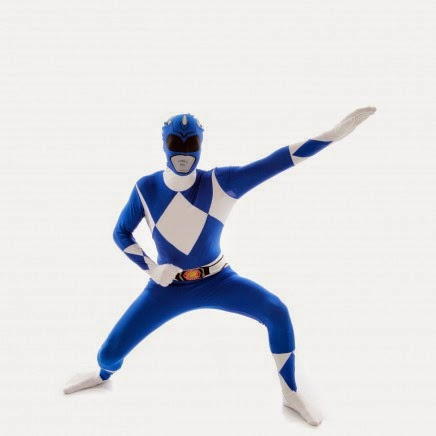 Power Ranger Azul Morphsuit