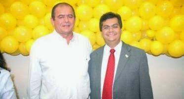 Humberto Coutinho e Flávio Dino