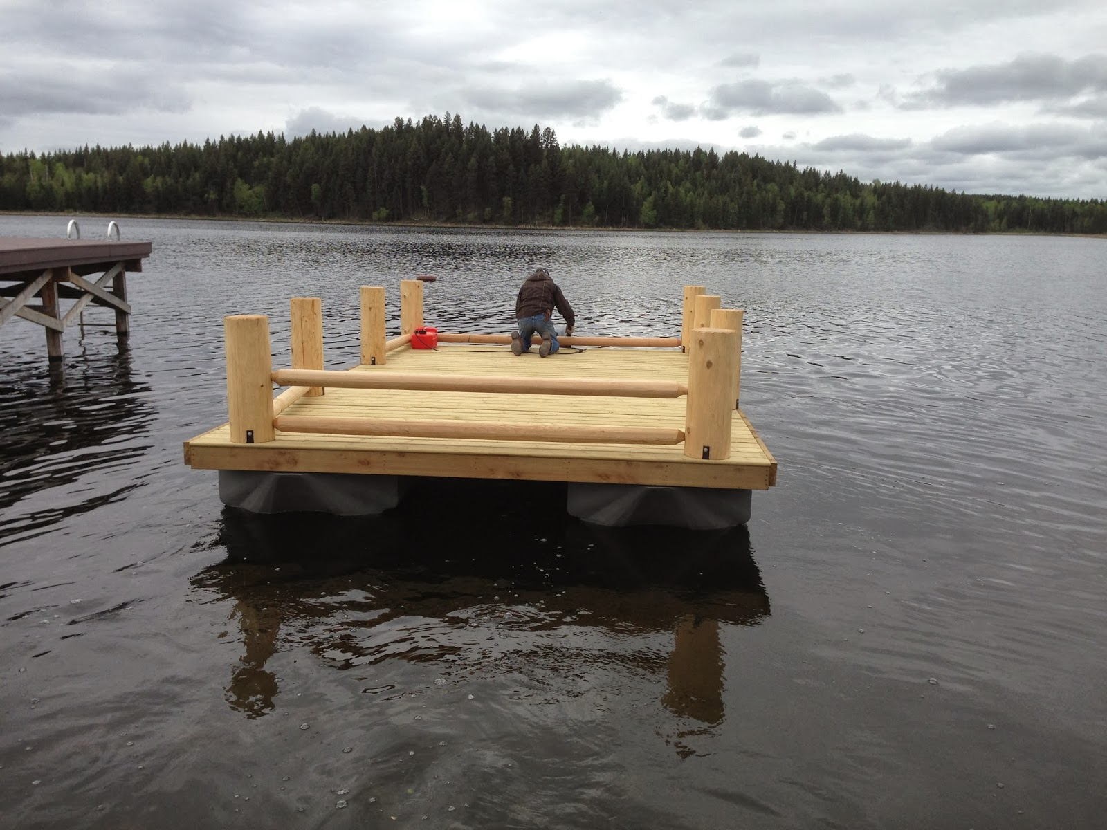 New Pontoon Boat Build With Wave Floats