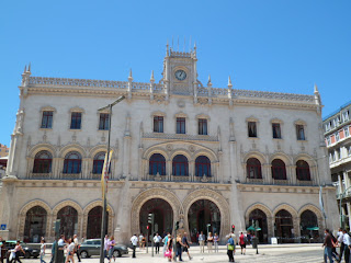 Rossio train station, Lisbon Portugal