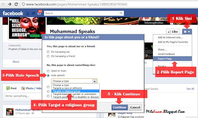 Facebook hina Nabi Muhammad Rasulullah