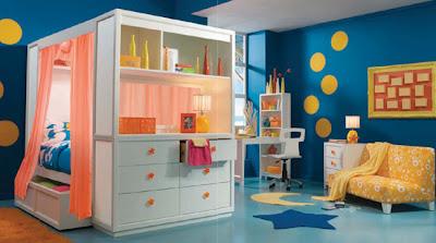 decoración dormitorio para niño