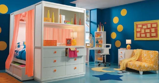 Dormitorios infantiles divertidos dormitorios con estilo - Dormitorios infantiles tematicos ...
