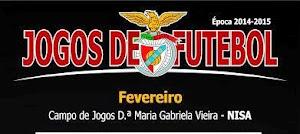 NISA E BENFICA: JOGOS DE FUTEBOL EM FEVEREIRO