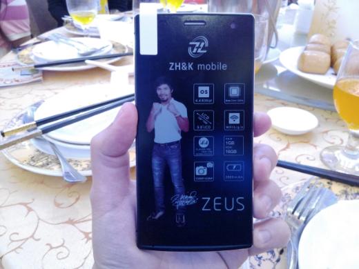 ZH&K Mobile Zeus Specs Price P6,299