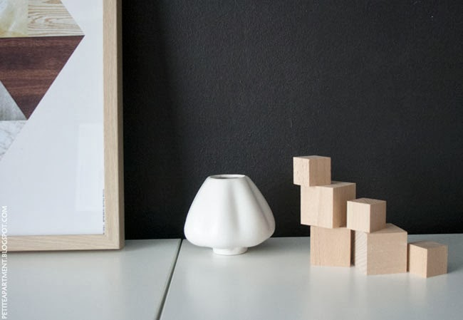 simple organic modern home decor diy wooden cubes