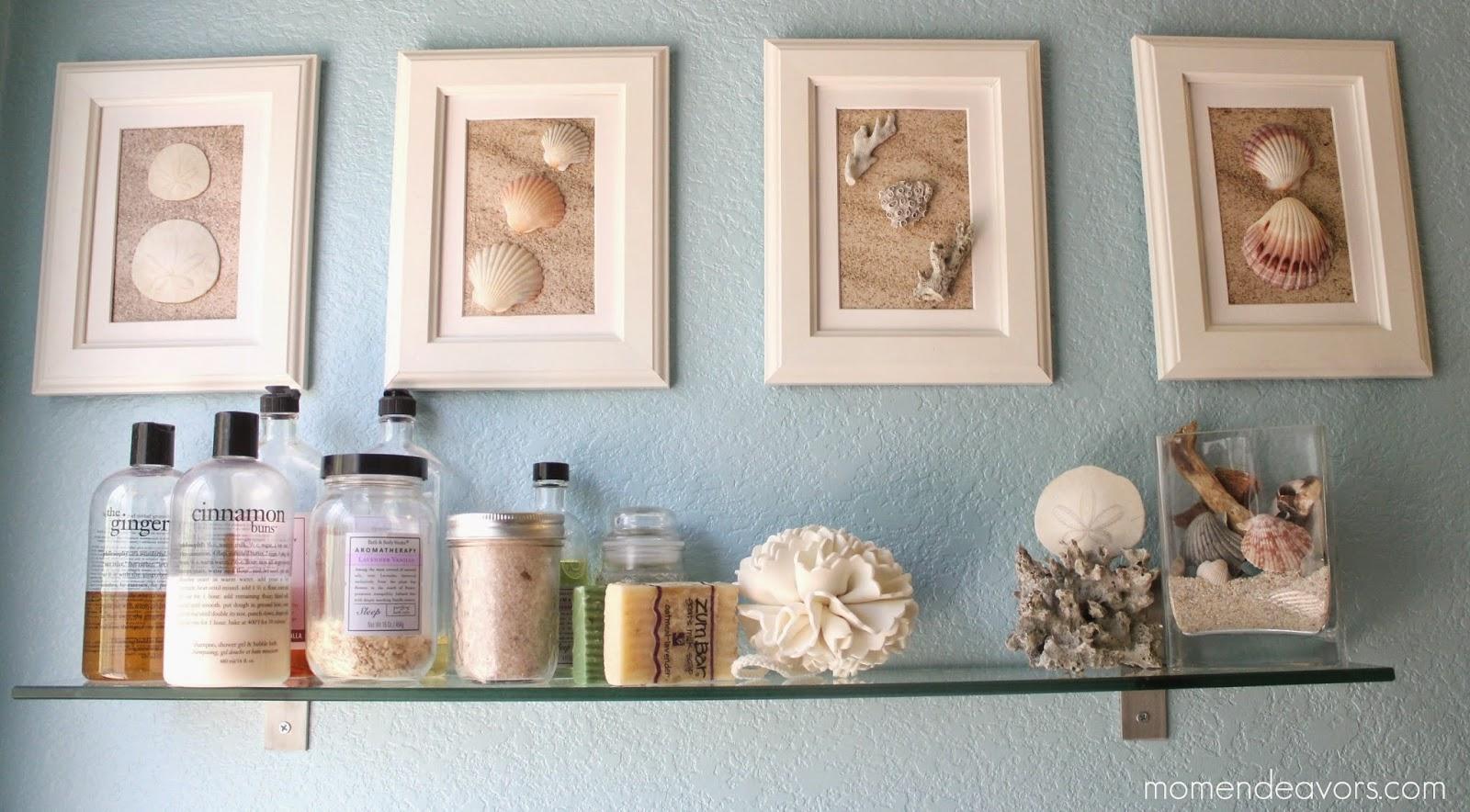 Decorative seashell craft ideas - Sea Shell Craft For Home Decoration