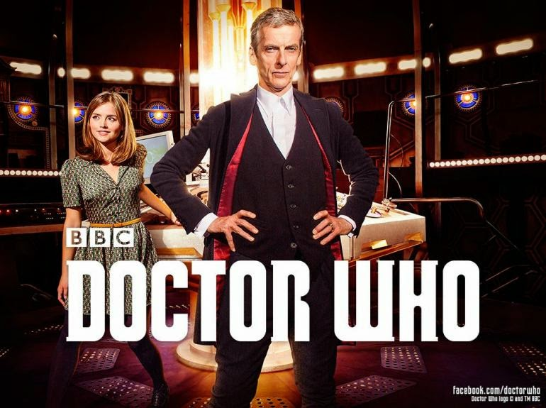 Peter Capaldi debuts as the 12th Doctor