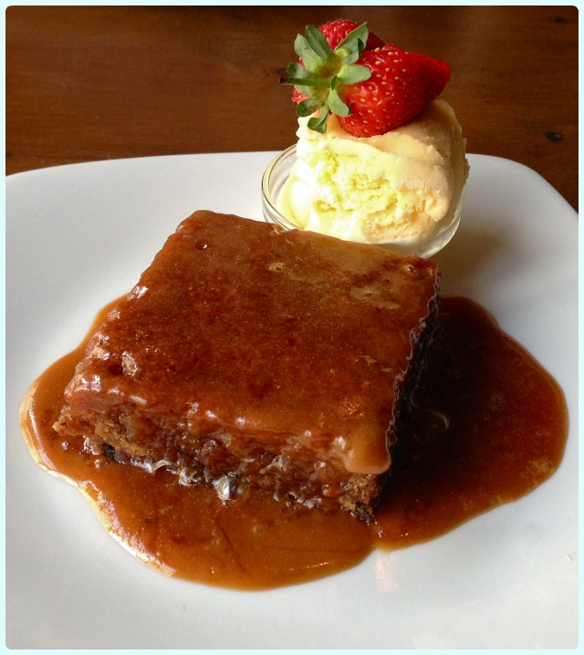 Whim Wham Cafe, Manchester - Sticky Toffee Pudding