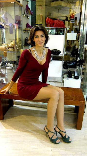 Sandalia de tacón modelo Nuria Cobo