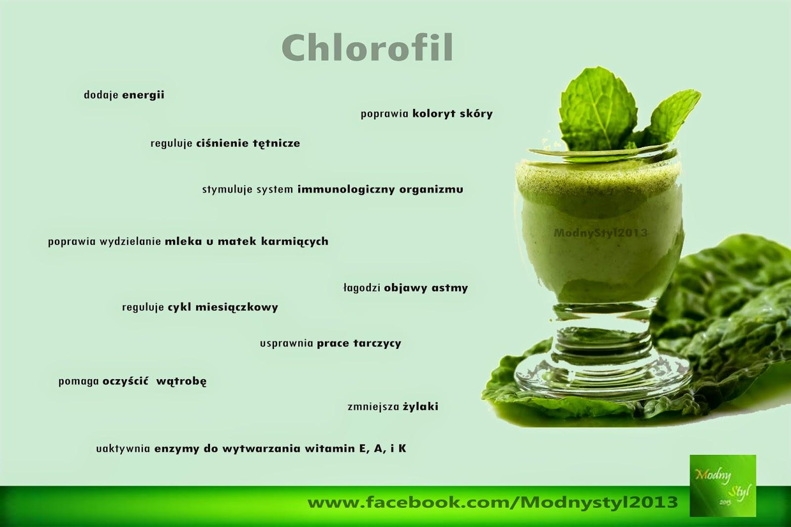 Chlorofil - eliksir młodości