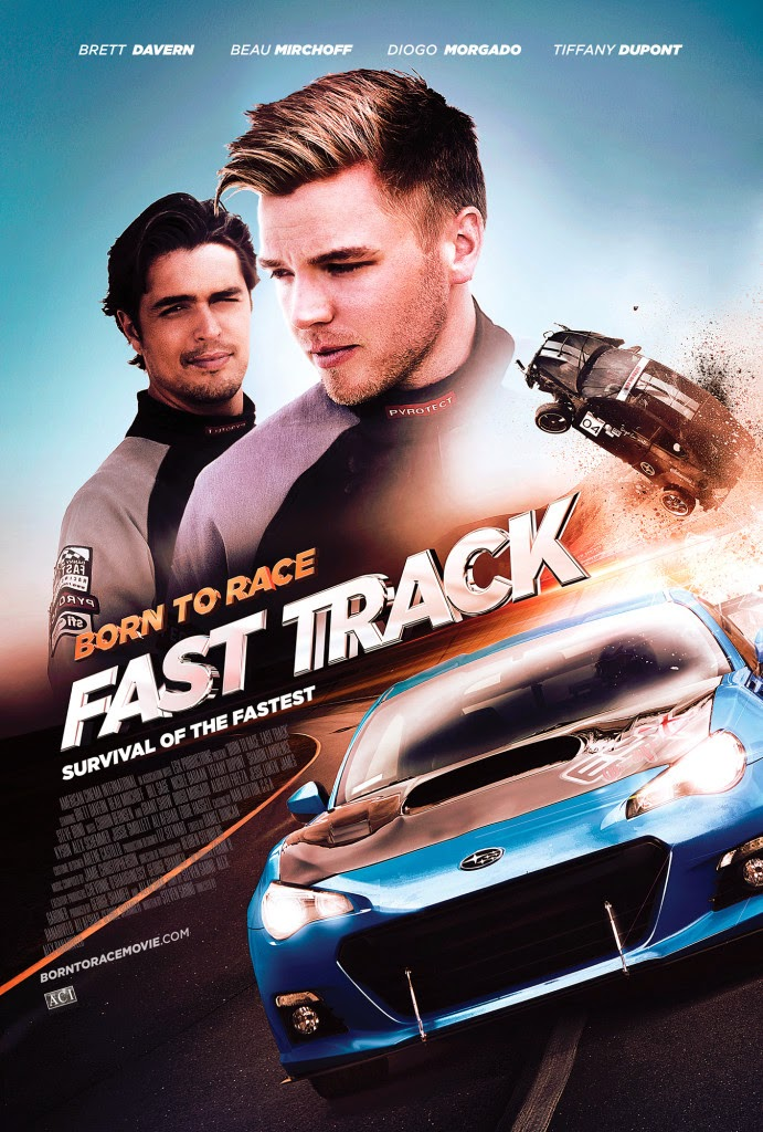 Download Film Born to Race Fast Track (2014)