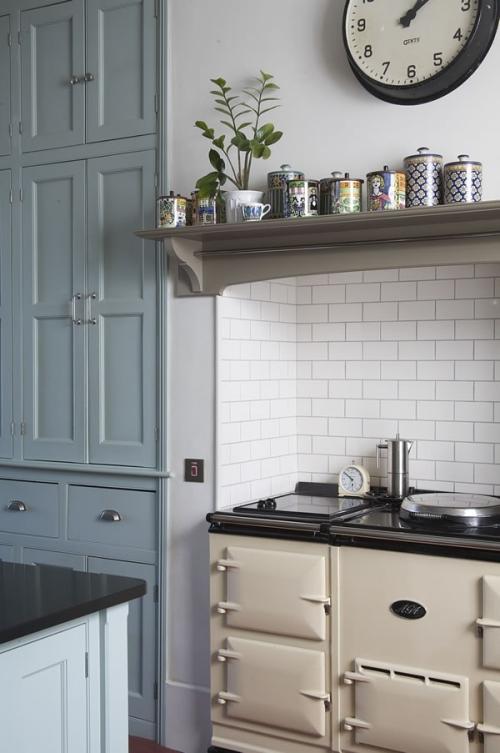 Baños Estilo Victoriano:Victorian Kitchen