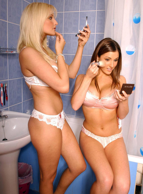 LifestyleBay: Lucy Pinder & Michelle Marsh hot photos in bikini