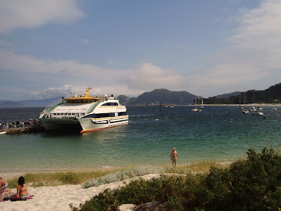 Transbordador Naviera Mar de Ons Islas Cies