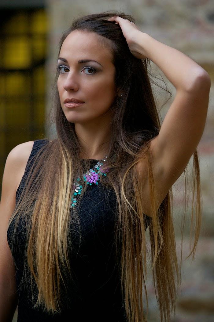 capelli lunghi shatush