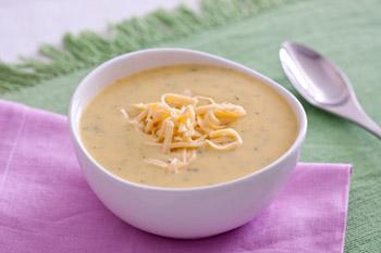 Receita de Sopa de mandioquinha com cream cheese