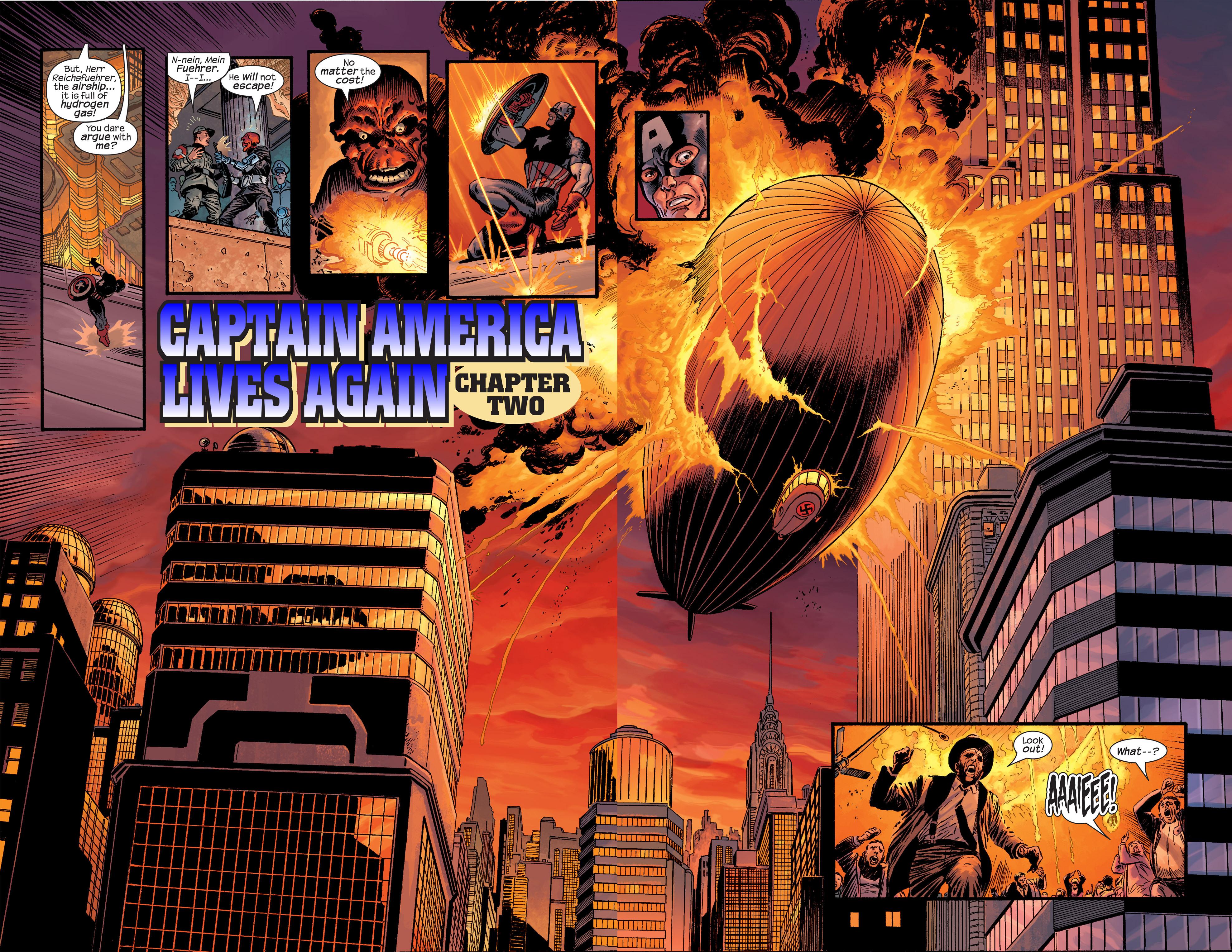 Captain America (2002) Issue #18 #19 - English 4