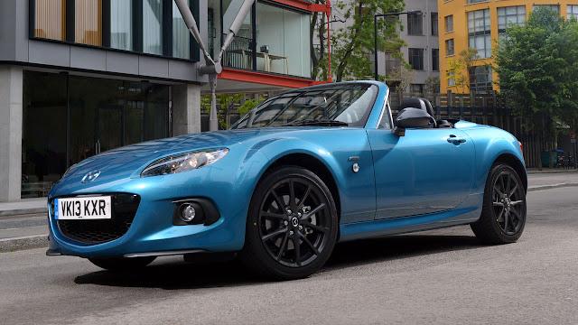 Limited Edition Mazda MX-5 'Sport Graphite' side