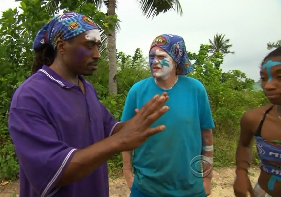 Russell Swan in immunity challenge