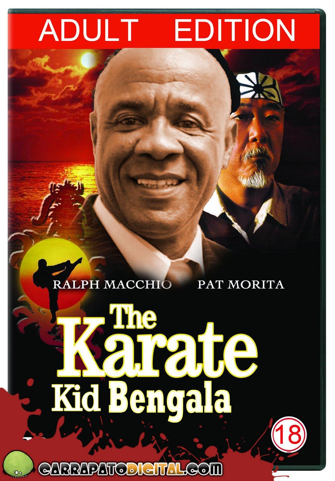 Breve lançamento Karate Kid Bengala