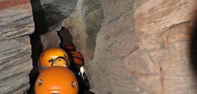 Μικροί σπηλαιολόγοι εν δράσει