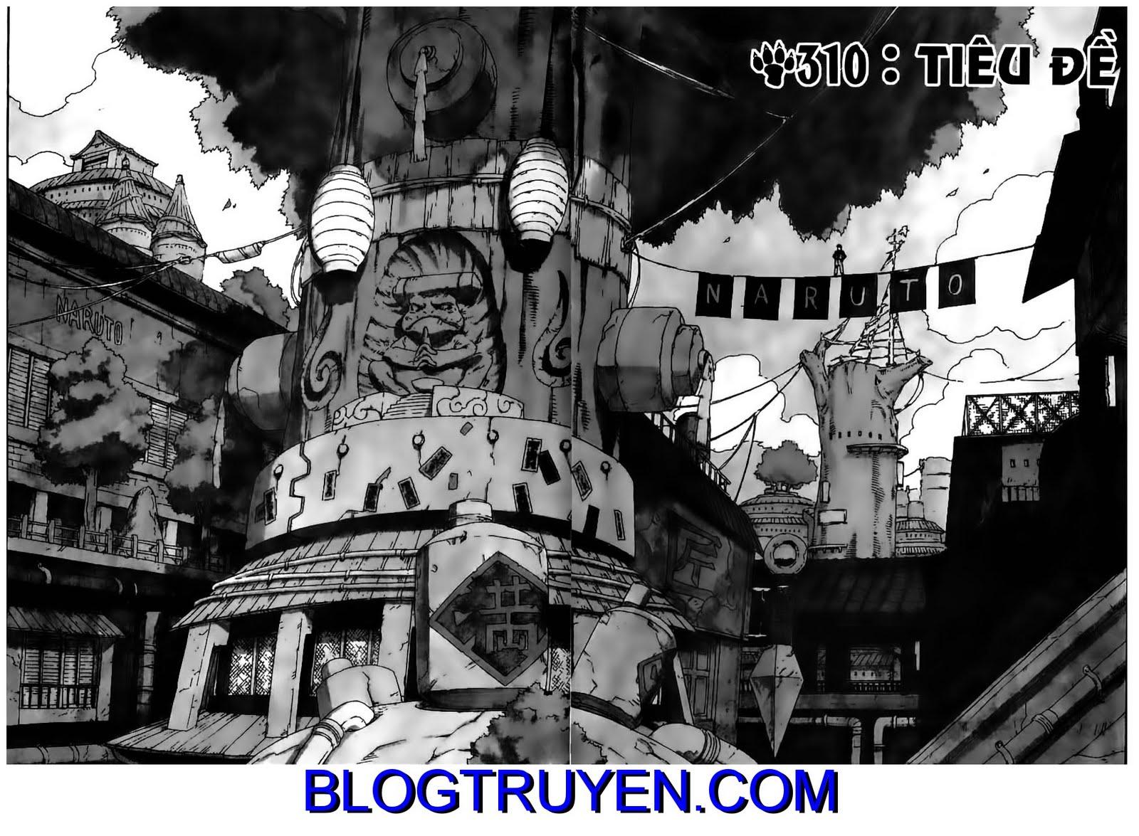 Naruto chap 310 Trang 1 - Mangak.info