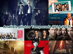 Análisis Pilotos Temporada 2014-2015