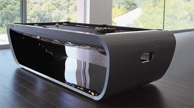 Arredamenti moderni biliardi di design per la casa - Tavolo da biliardo trasformabile in tavolo da pranzo ...